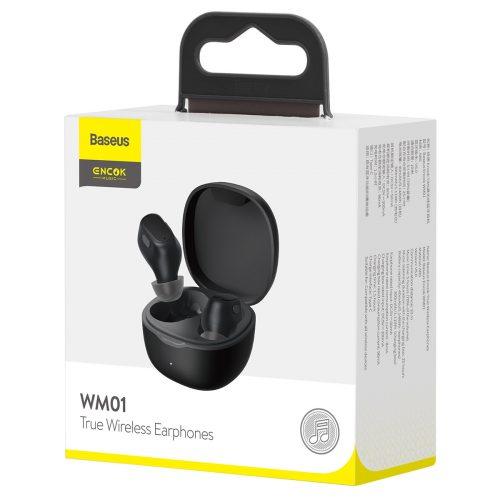 Baseus WM01 Bluetooth Earphones Stereo Wireless 5.0