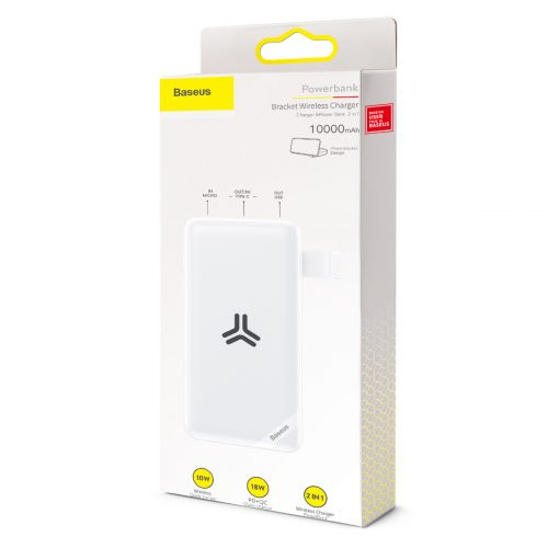 Baseus S10 Bracket 10W Wireless Charger Power bank 10000mAh 18W