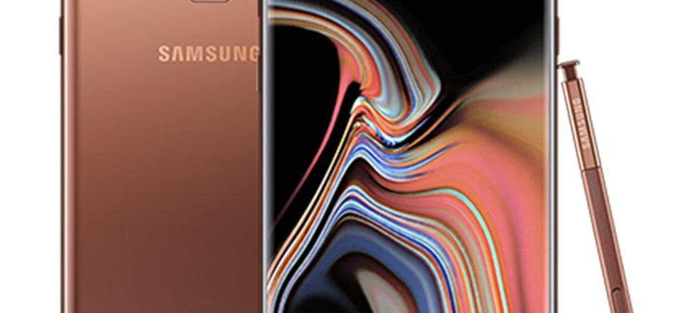 Samsung Galaxy Note 9, Samsung, Samsung Galaxy, Note 9, Samsung Galaxy Note 9 Metallic Copper