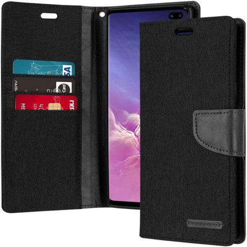Samsung Galaxy S10 Plus Goospery Canvas Wallet Case