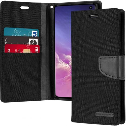 Samsung Galaxy S10 Goospery Canvas Wallet Case