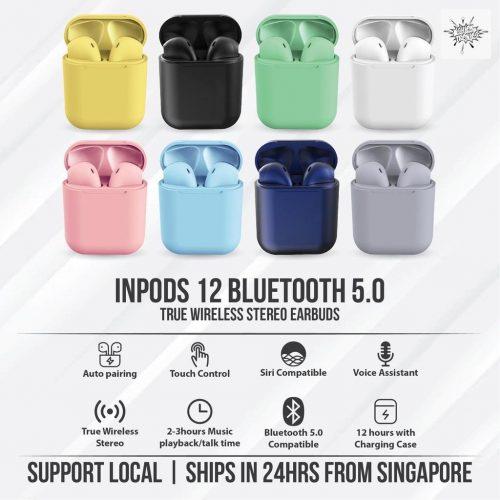 InPods : Wireless Bluetooth 5.0 Earbuds