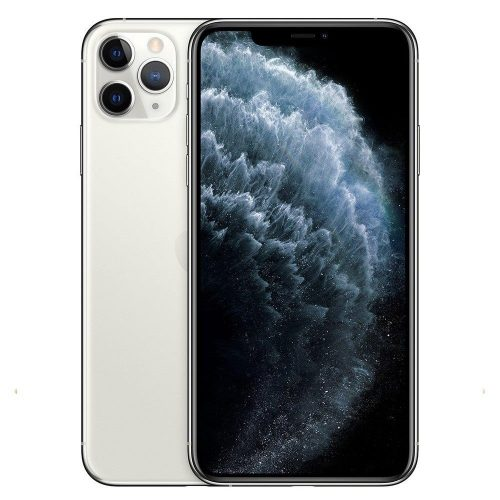 iPhone 11 Pro max silver / white