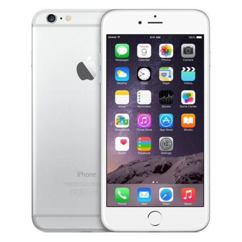 iphone 6 Plus silver , white