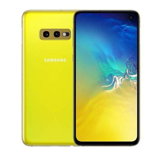 samsung galaxy s10e yellow