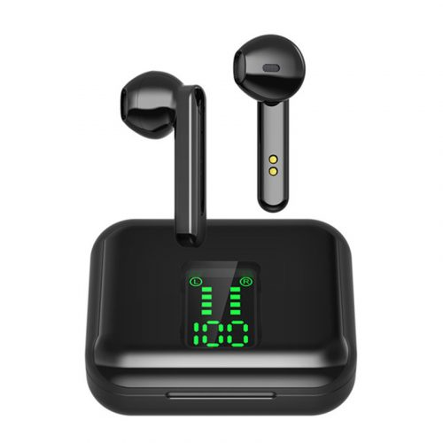 L12 TWS Wireless Bluetooth 5.0 Earbuds Black