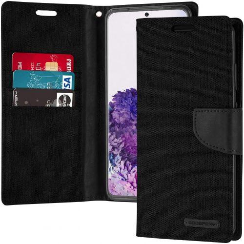 Samsung Galaxy S20 Plus Goospery Canvas Wallet Case