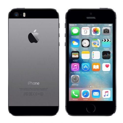 iphone 5s space grey / black
