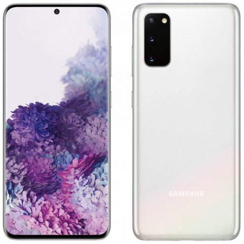 Samsung S20 white