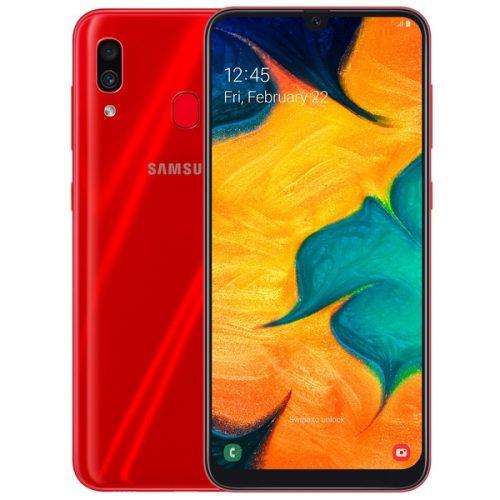 samsung galaxy A30 red
